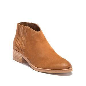 DOLCE VITA Towne Brown Genuine Leather Booties
